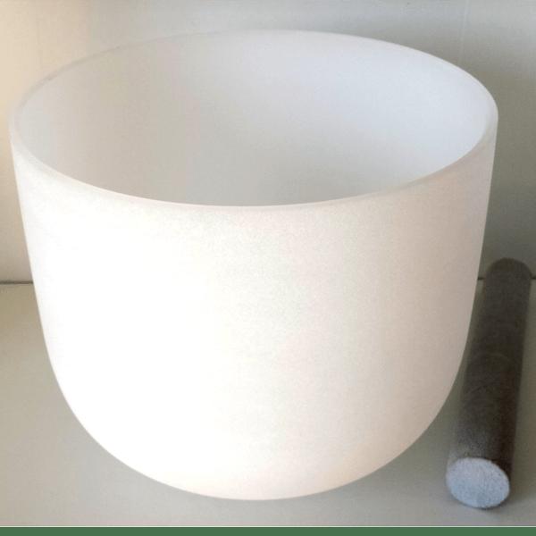 Cuenco de Cuarzo 25cm